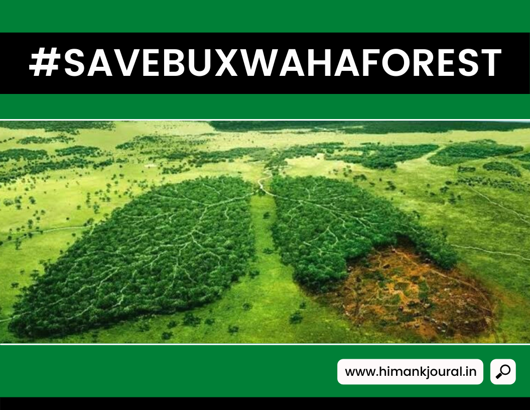 Save Buxwaha Forest