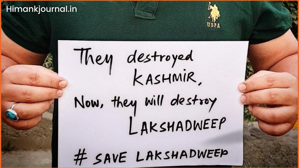 #savelakshadweep